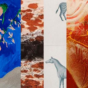 Acervo – Entre pinturas e desenhos