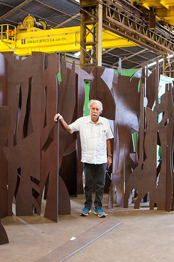 Natureza inventada, de Carlos Vergara - Uma mostra, dois espaços