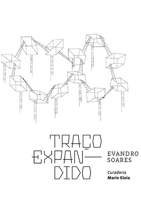 """O """"Traço expandido"""" de Evandro Soares na Referência Galeria de Arte"""